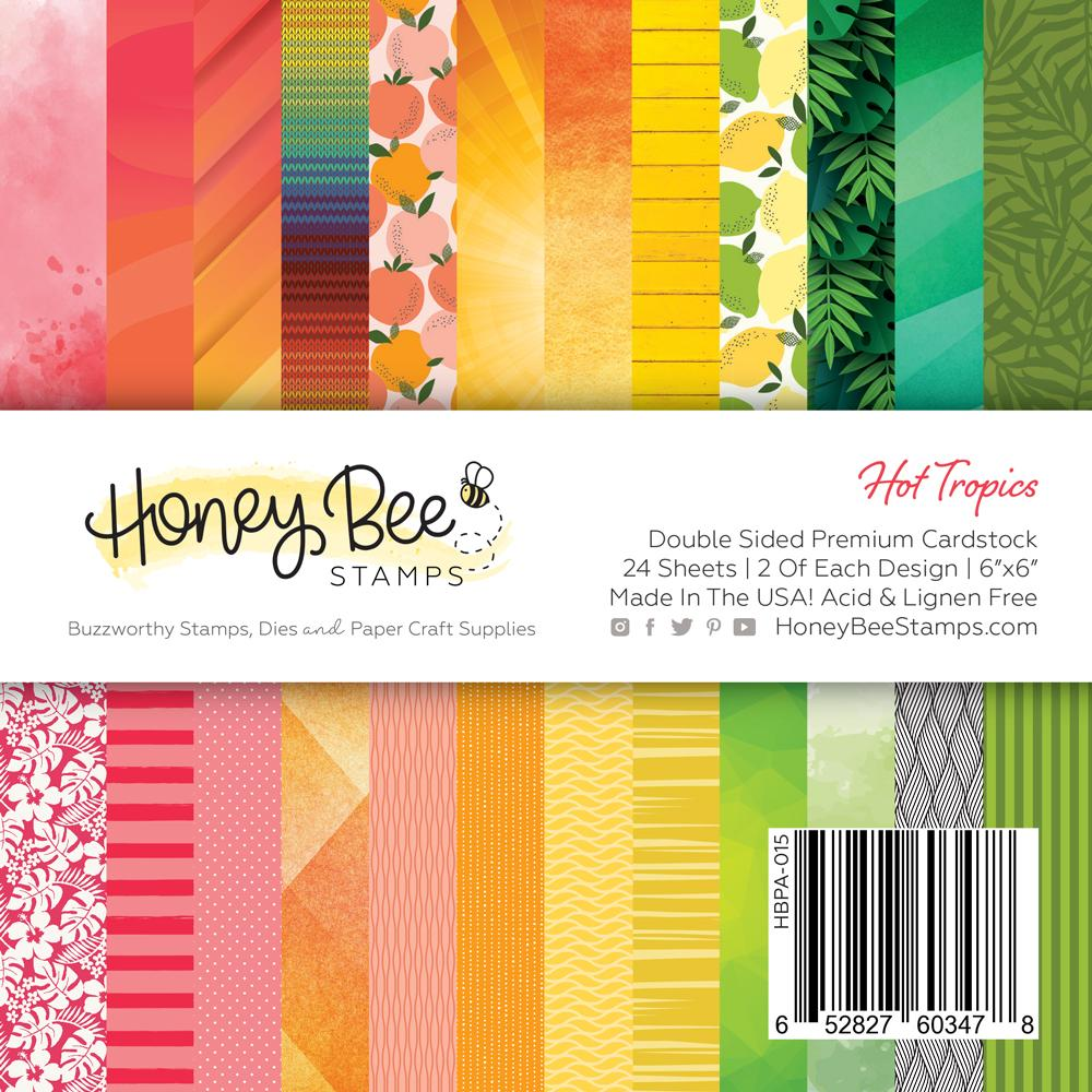 Hot Tropics 6x6 24 Double Sided Paper Pad