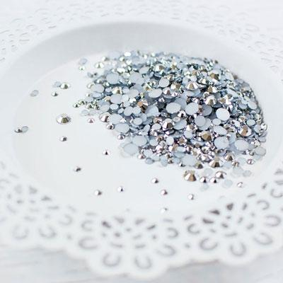 Metallic Silver Jewels