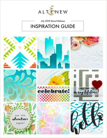 July 2018 Stencil Release Inspiration Guide