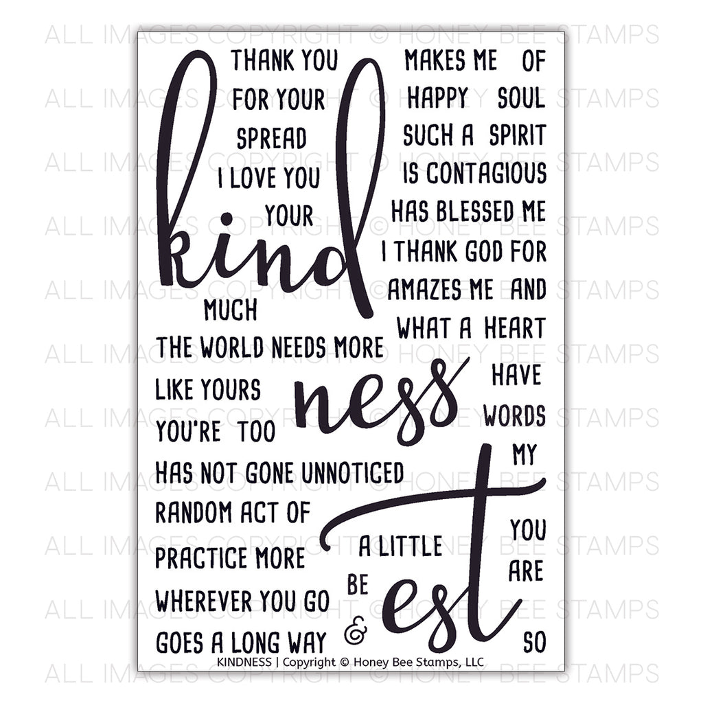 Kindness Stamp Set