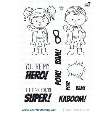 Little Darling Super Heroes