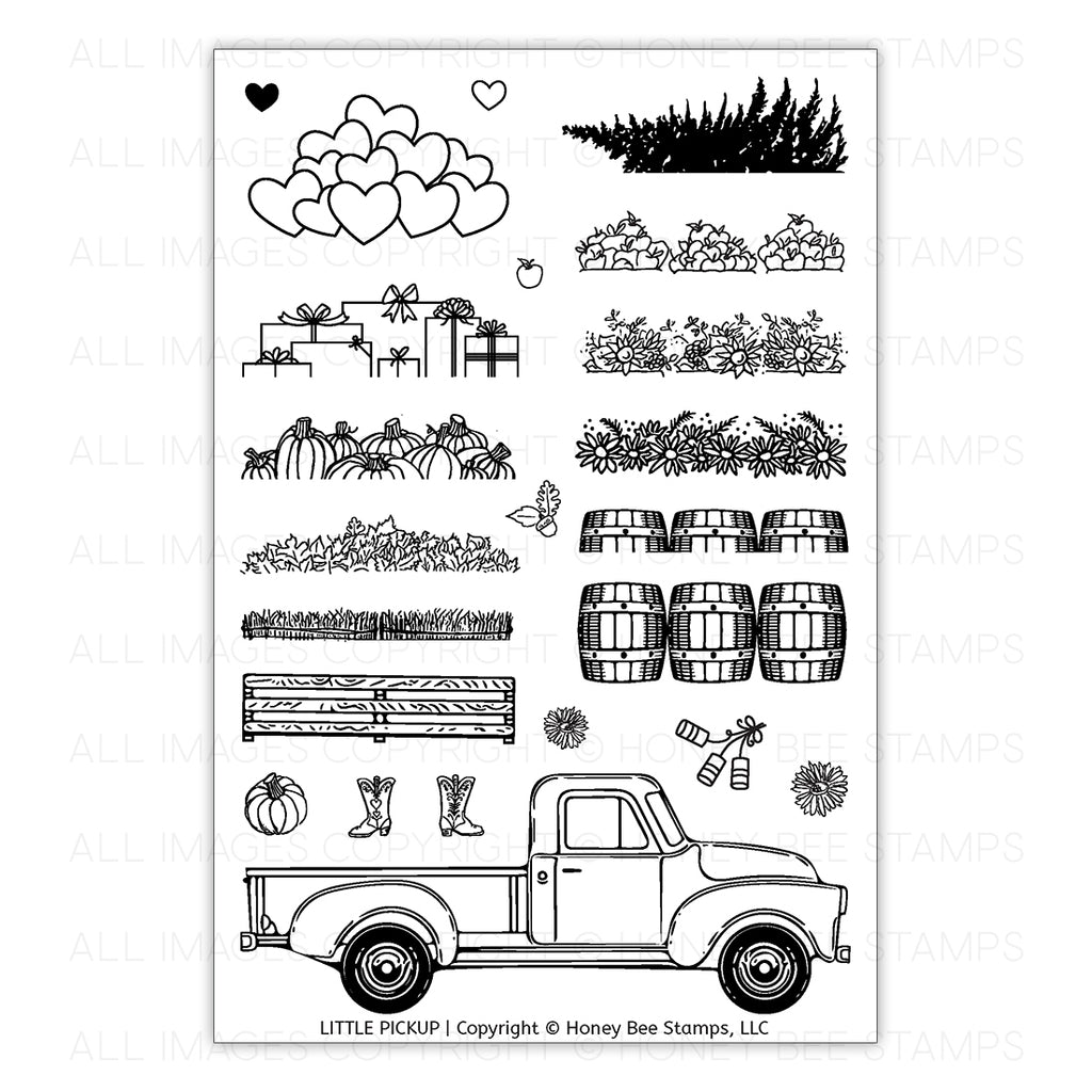 Little Pickup Stamp Set