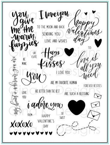 Clear Stamps Love Is All You Need