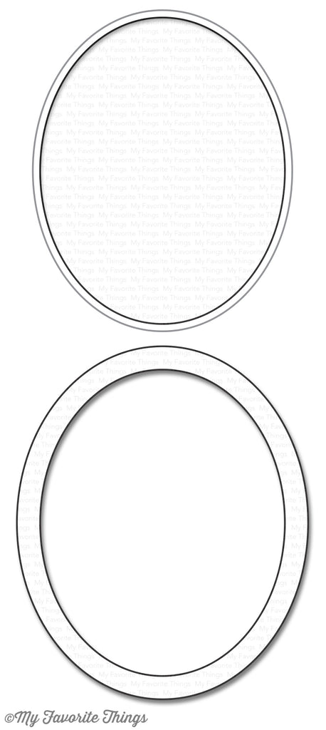 Die-namics Oval Shaker Window & Frame