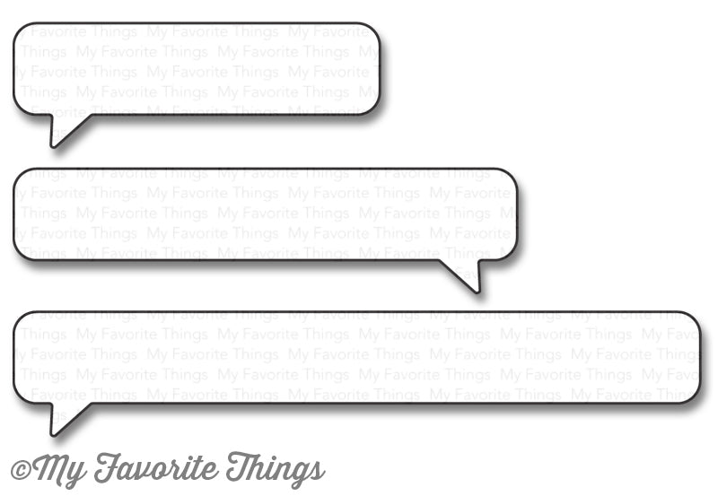 Die-namics Essential Speech Bubbles
