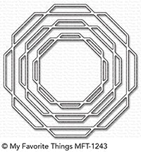 Die-namics Linked Octagon Frames