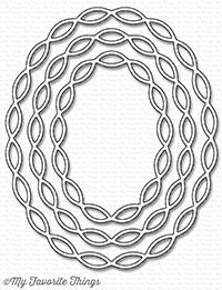 Die-namics Linked Chain Oval Frames