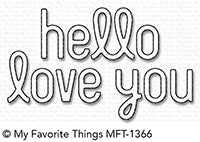 Die-namics Simply Hello & Love You