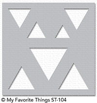 Stencil Basic Shapes - Triangles