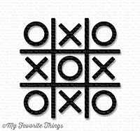 Tic Tac Toe - Black
