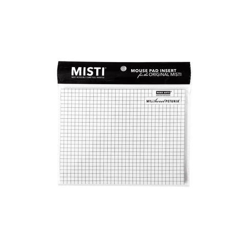 Misti Regular Mouse Pad Hero Black