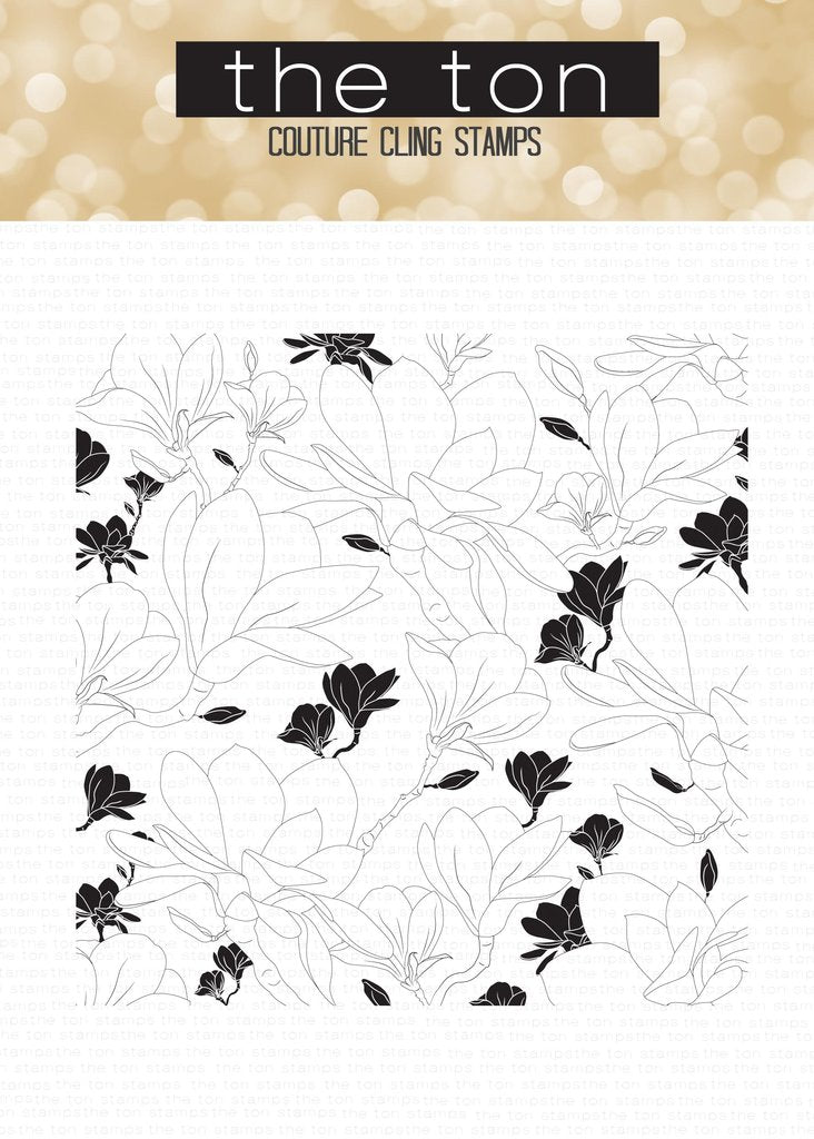 Magnolia Fields Cling Background