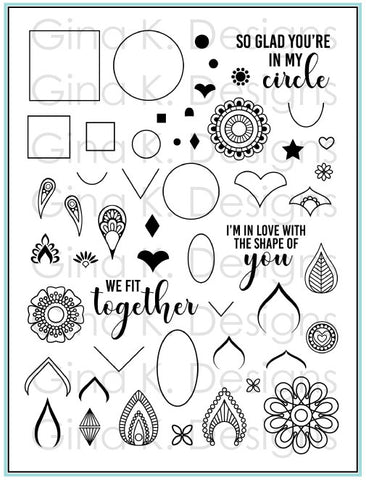 Clear Stamps Mandala Maker