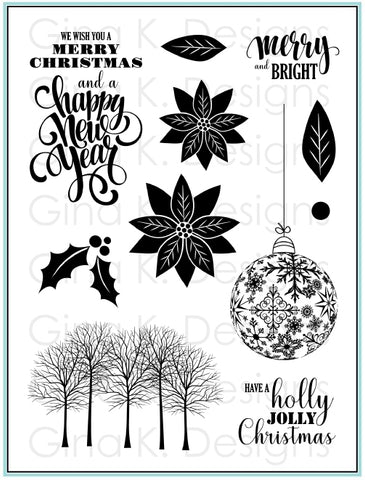 Clear Stamps - Merry & Bright