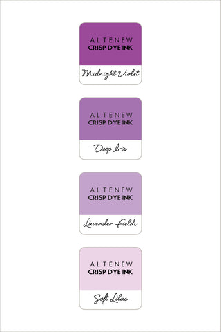 Shades of Purple Mini Cube Set