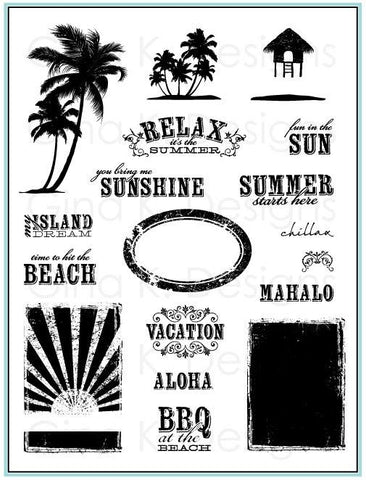 Clear Stamps My Island