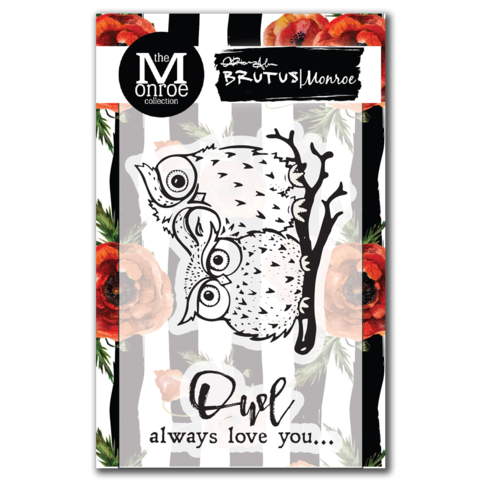 Owl Love You - 3x4 Stamp