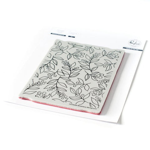 Winterberry Background cling stamp