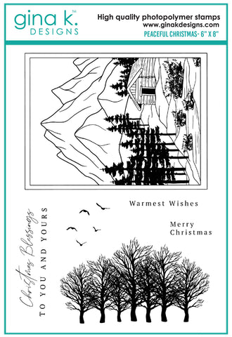 Clear Stamps - Peaceful Christmas