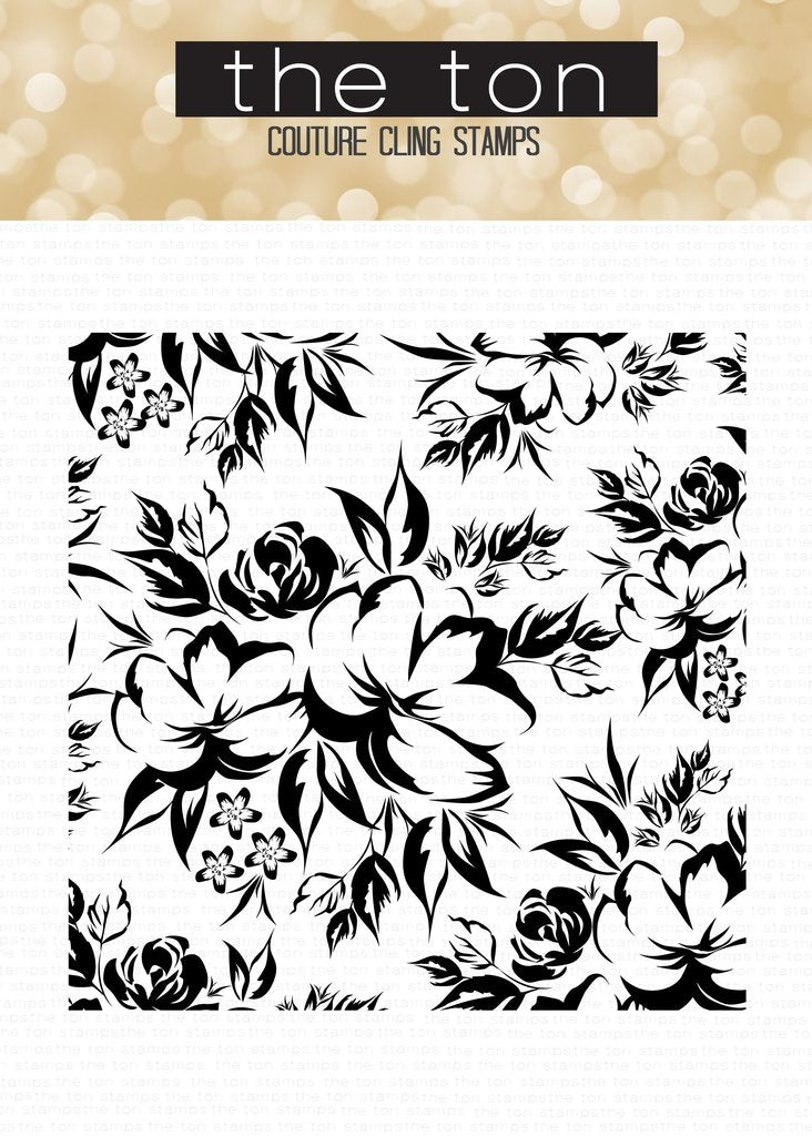 Peony Terrace Cling Background