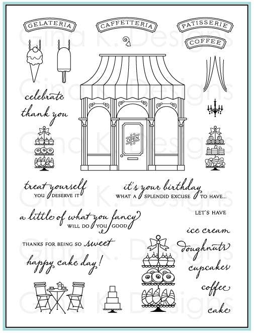 Clear Stamps Petite Patisseries