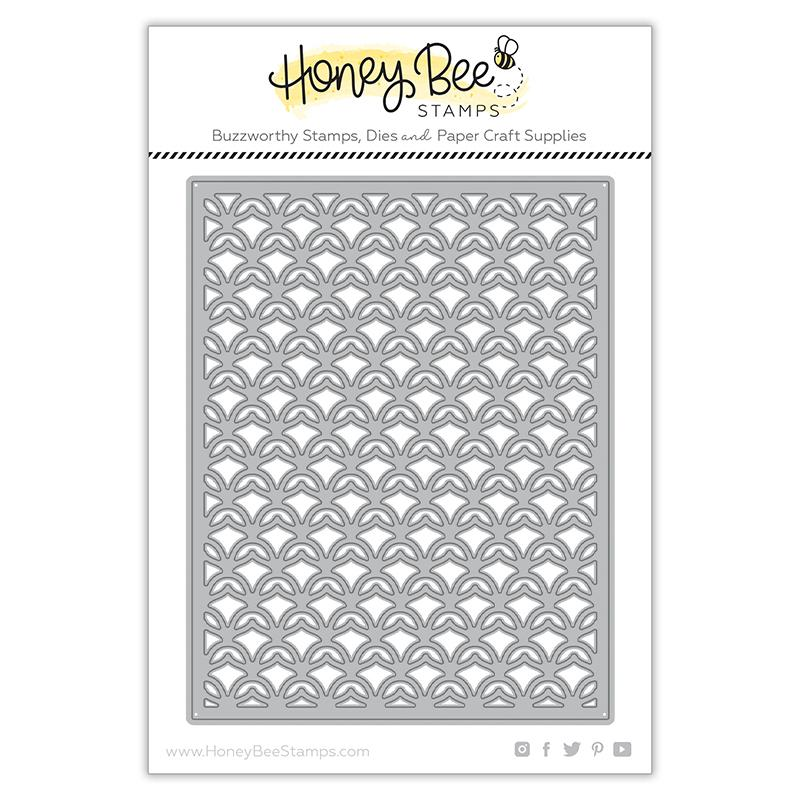 Pineapple Lattice Cover Plate - Top - Honey Cuts