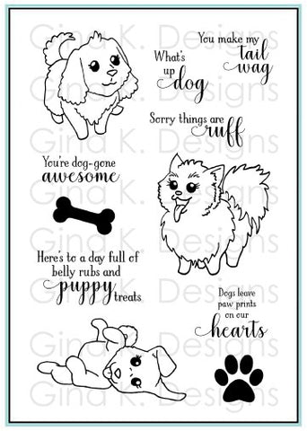 Clear Stamps Playful Pups