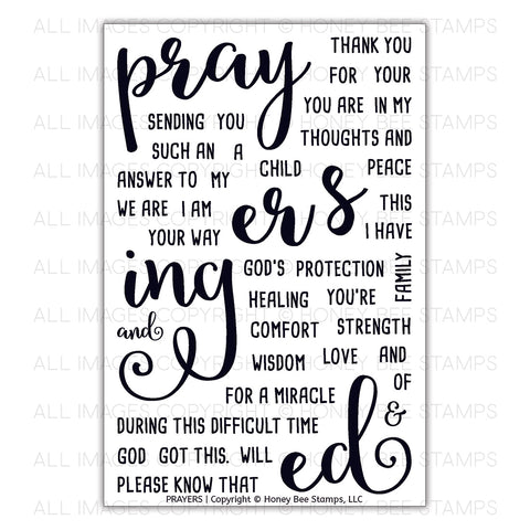 Prayers Stamp Set