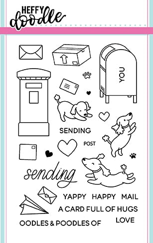 Yappy Happy Mail Stamps