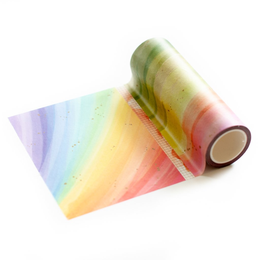 Rainbow Splatters Washi Tape