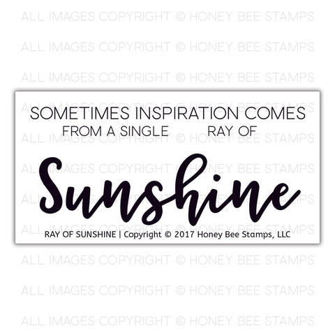 Ray Of Sunshine Stamp Set