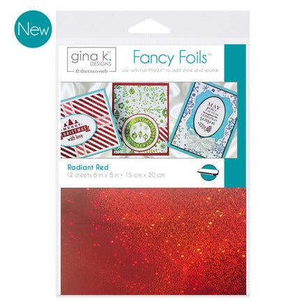 GKD Fancy Foils - Radiant Red