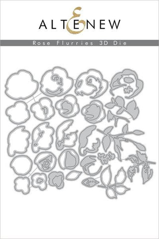 Rose Flurries 3D Die Set