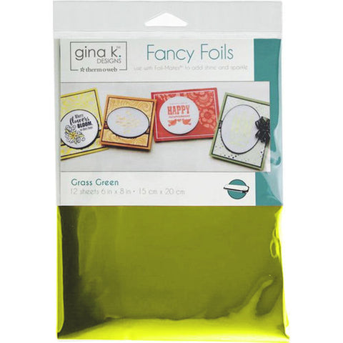 GKD Fancy Foils - Grass Green