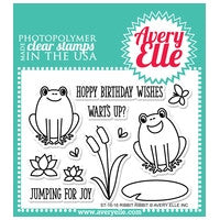 Ribbit Ribbit Clear Stamps