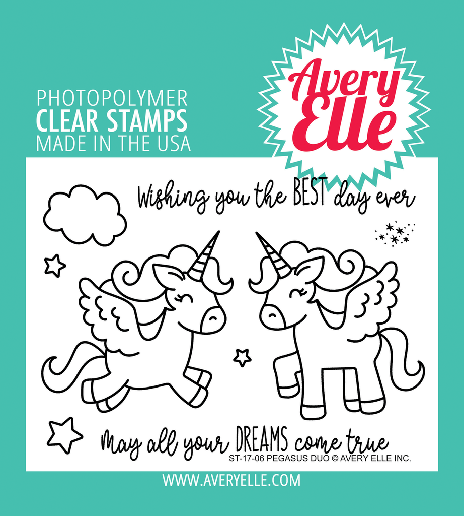 Pegasus Duo Clear Stamps