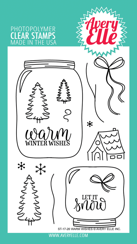 Warm Wishes Clear Stamps