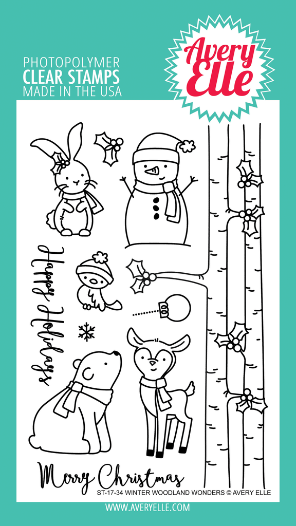 Winter Wonderland Wonders Clear Stamps