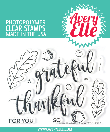 Grateful Clear Stamps