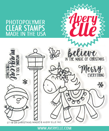 Christmas Magic Clear Stamps