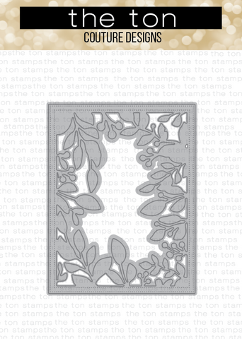 Foliage Border Coverplate Die