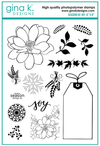 Clear Stamps - Seasons of Joy
