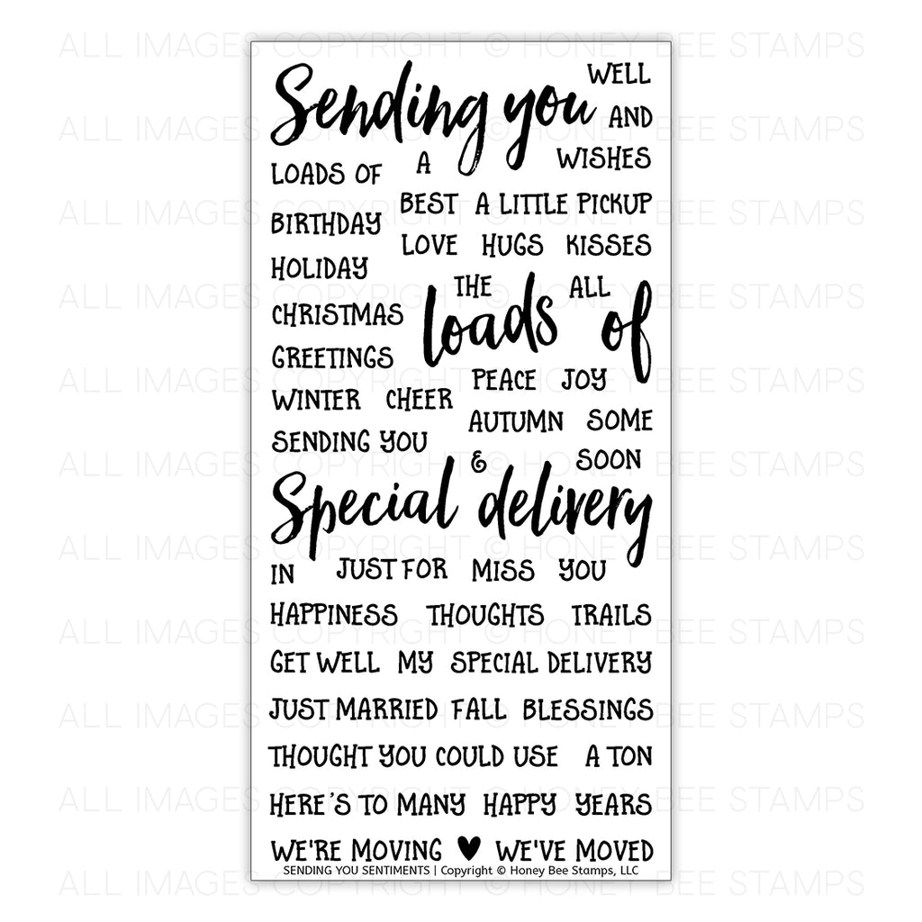 Sending You Sentiments Stamp Set