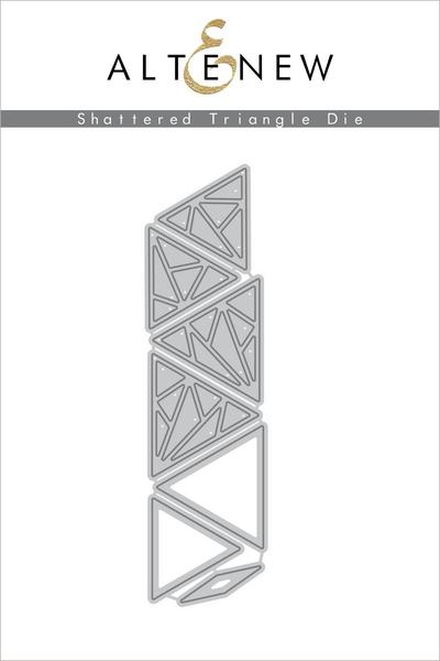 Shattered Triangle Die Set