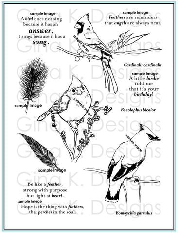 Clear Stamps - Snow Birds