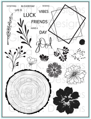 Clear Stamps Something Good in Every Day