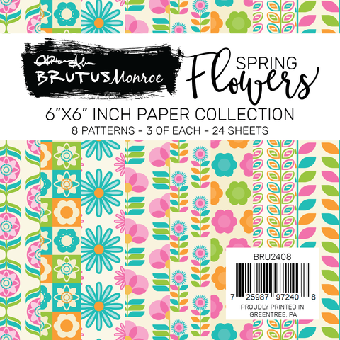 Spring Flowers Paper Pad