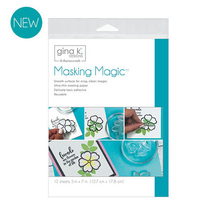 Gina K Masking Magic Sheets