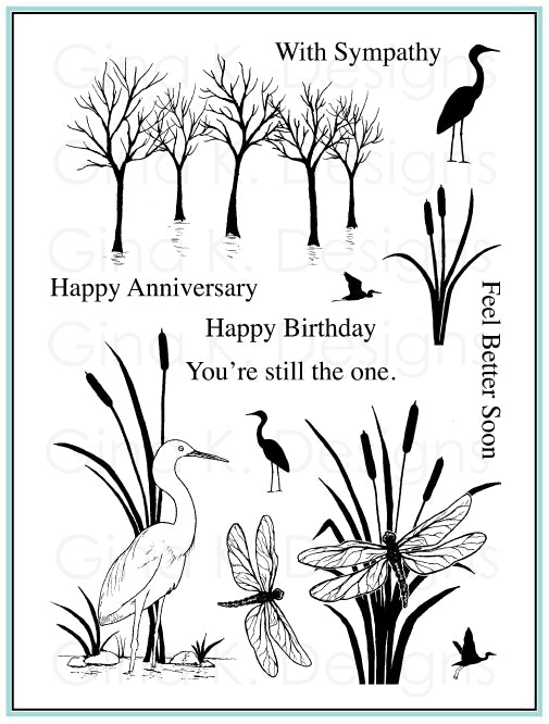 Clear Stamps The Wetlands 2