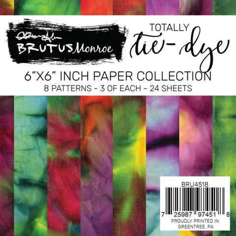 Totally Tie Dye Paper Pad